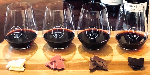 Lindsay Wine Estate - Chocolate Pairing