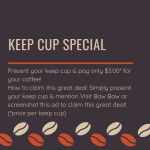 4CC221CE CD6F 4836 A137 98AE73A7DD82 - KEEP CUP SPECIAL @ the Greyhorse Cafe