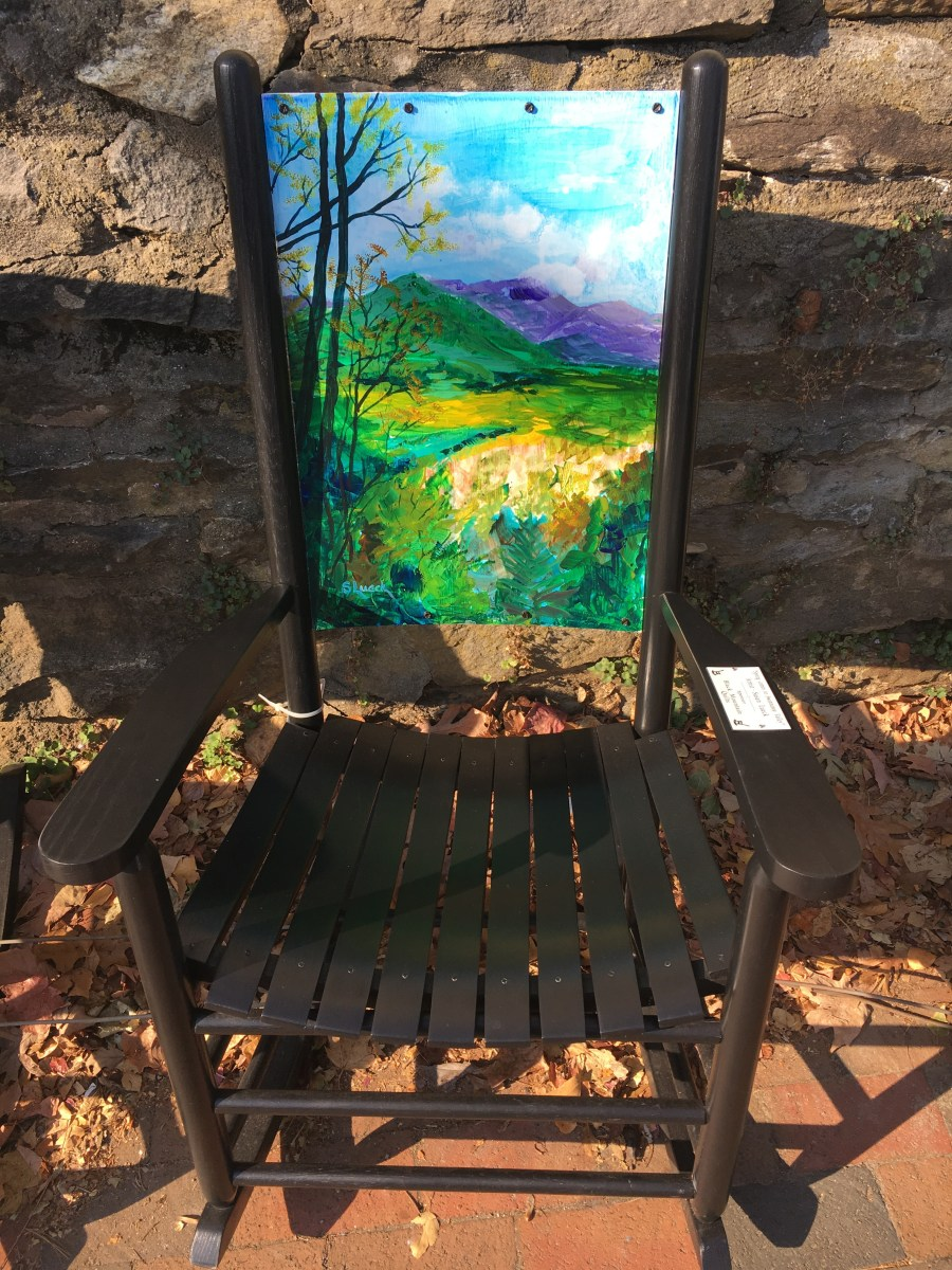 """""""Spring Comes To The Swannanoa Valley"""" - Susan Lueck"""
