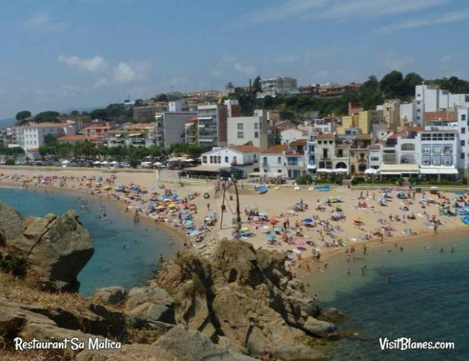 Blanes view