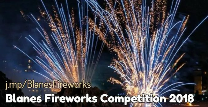 Blanes 2018 Fireworks