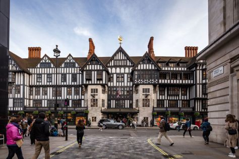 Le grand magasin Liberty, Londres.