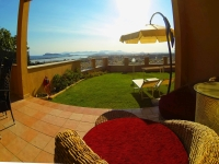 ♥ Poetto beach house with private panoramic garden