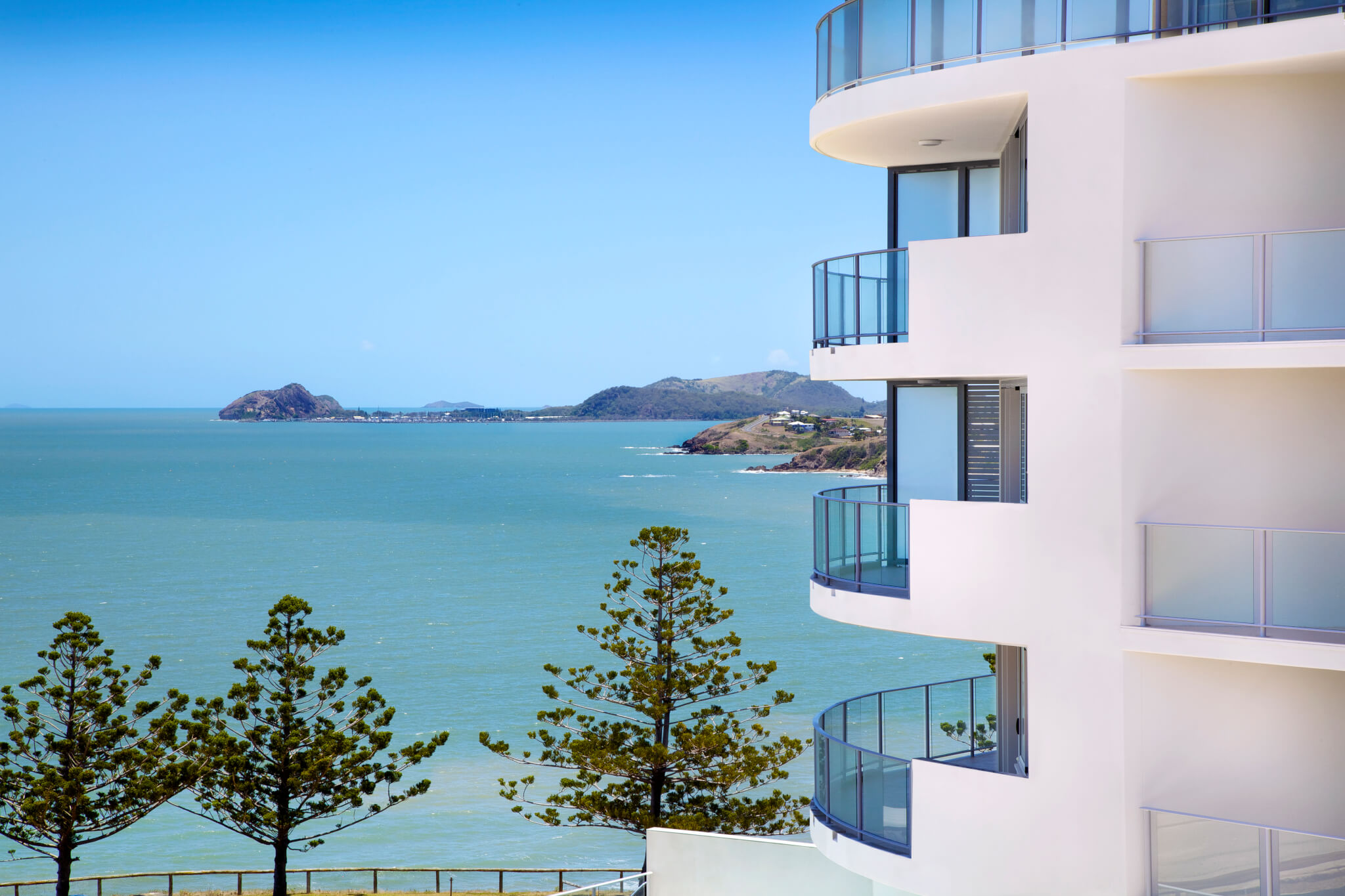 accommodation, places to stay in Yeppoon, views of Keppel Bay