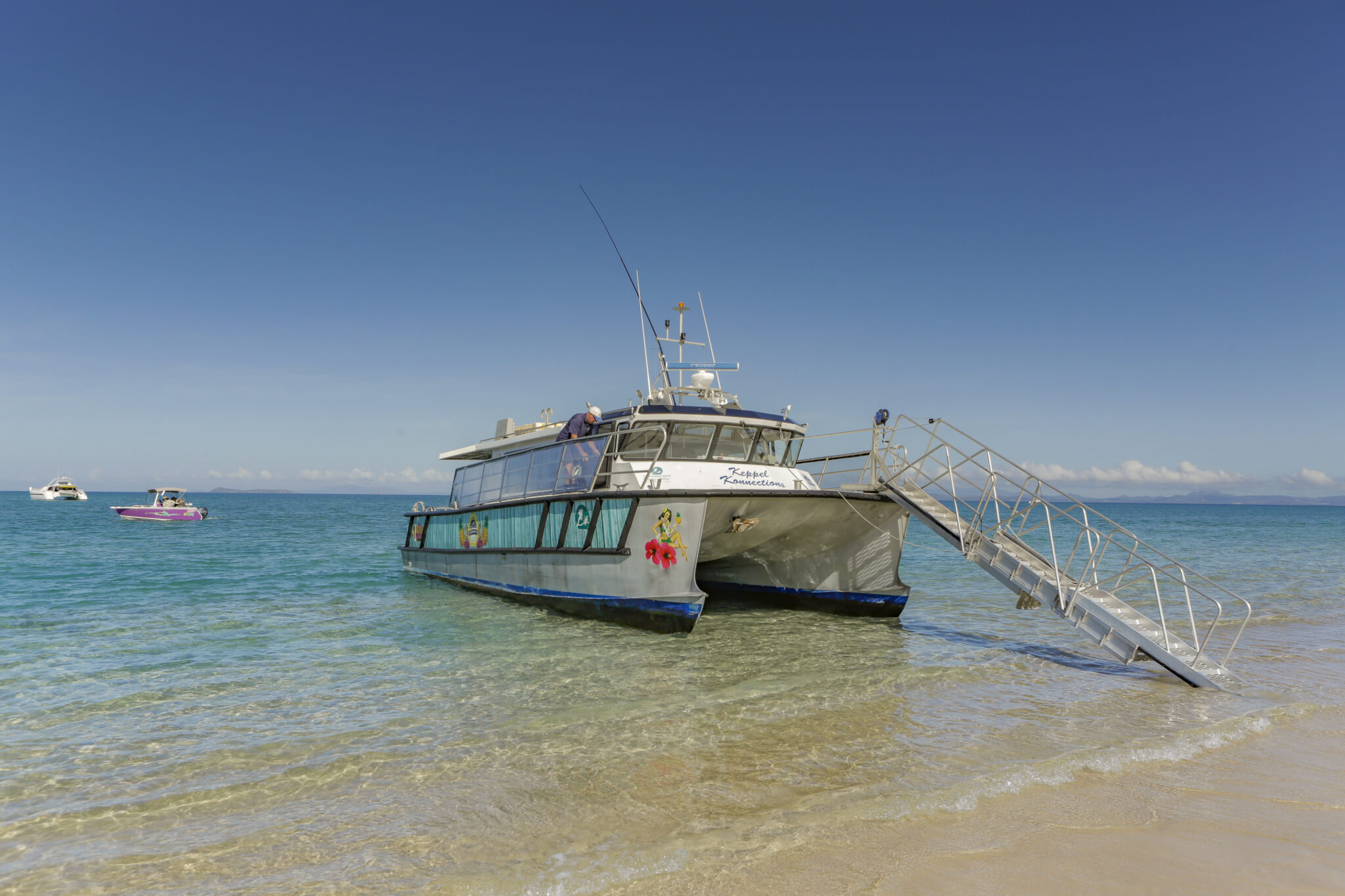 island day tours to great keppel island