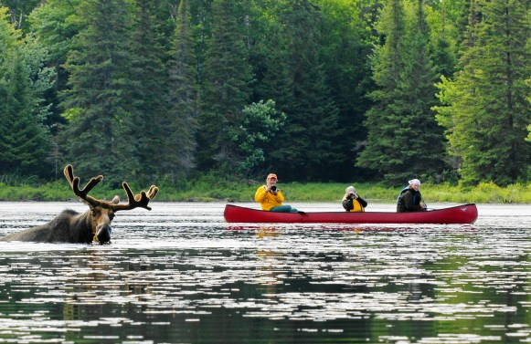 Voyageur Canoe Outfitters canoe paddlers