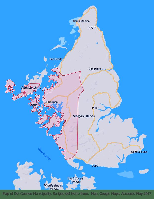 Del Carmen Map
