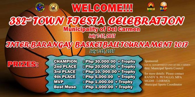 Inter-Barangay Basketball Tournament 2017