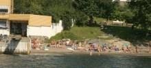 Sprostranda Beach, tiny and cosy near to town.