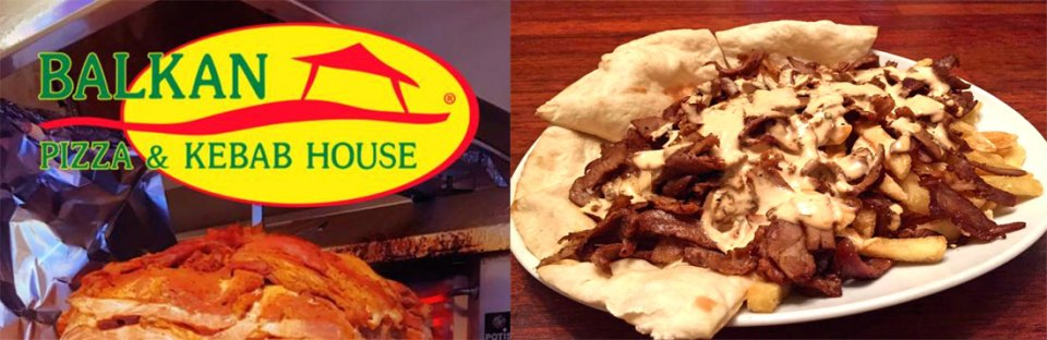 Quick street-food is available at Balkan Pizza & Kebab House.