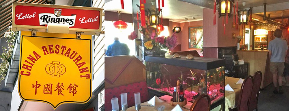 Chinese in Drøbak: High food score and reasonable prices.