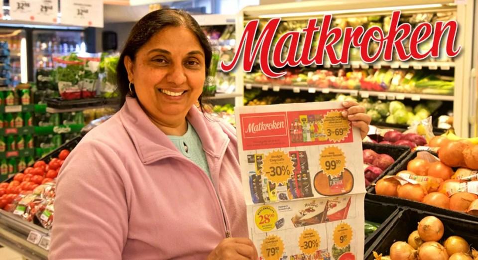 Palwinder Kaur er daglig leder i Matkroken i Kirkegata 9, like ved Drøbak Torg og Taxiholdeplassen.