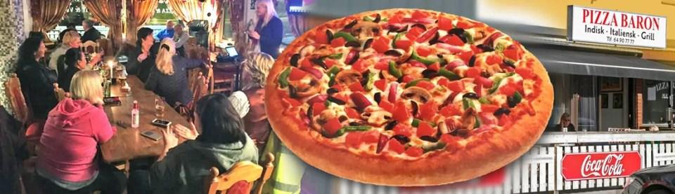 Pizza Baron er populær med sitt folkelige serveringstilbud og karaoke på Seiersten.