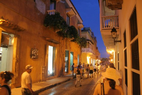 A stroll along the charming streets of Cartagena is magical! Cartagena, Colombia © Carmen Cristina Carpio Tobar