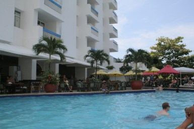 Warm weather all year round. Cartagena, Colombia © Carmen Cristina Carpio Tobar