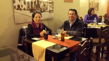 Peru - Carmen Tobar de Carpio/Marco Carpio