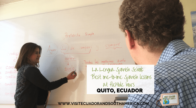 La Lengua Spanish School: Best one-to-one Spanish lessons at flexible hours in Quito