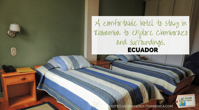 Hotel Rincon Aleman: Stay at the best place in Riobamba, to explore Chimborazo and surroundings