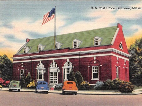 Grenada's Old Post Office