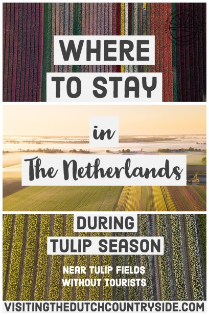 Best hostels in Alkmaar | Where to find tulip fields without tourists in The Netherlands | Where to stay near tulip fields in Noord Holland The Netherlands | Best accommodation near tulip fields The Netherlands |
