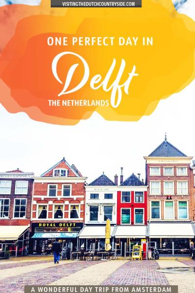 Delft is one of the cities and destinations in The Netherlands you have to travel to. Travel to Delft, Zuid- Holland, The Netherlands, with this 24 hours itinerary to discover how to spend a weekend or one day in Delft. Discover Delft as a day trip or trips from Amsterdam including what to do and see in Delft, including delftware pottery, best food, exploring tips to get the most out of your visit of the city of Delft during spring, summer, autumn and winter Delft, The Netherlands.