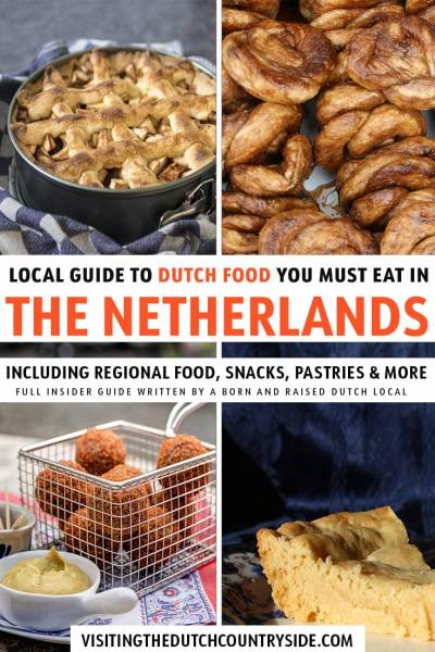 Discover the Netherlands and its food in this insider guide from a local. Including The Netherlands traditional food for dinners, desserts, snacks and breakfast. Find The Netherlands best food such as breads, mashed potatoes,butter cakes, sweets and pea soup. But what to think of the best food dishes in Holland, such as apple pies and chocolate sprinkles in The Netherlands. Explore Europe with the best food, such as desserts and meals to put on your bucket lists when you travel to cities.