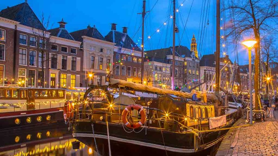 Groningen during Christmas time