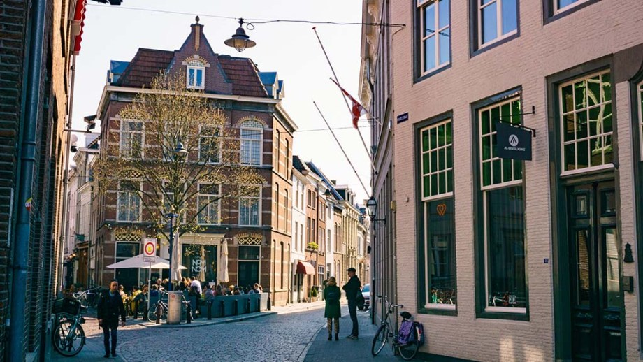 Walking through the bustling Dutch city of Den Bosch/ 's-Hertogenbosch with cobblestoned streets, terraces and restaurants, is one of the things you need to do in this destination inNoord (North)- Brabant, The Netherlands