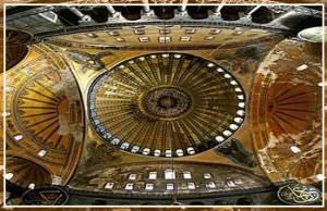 Hagia Sophia Museum Byzantine basilica museum with mosaics
