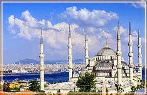 Sultan Ahmed Mosque Iconic Blue Mosque with 6 minarets