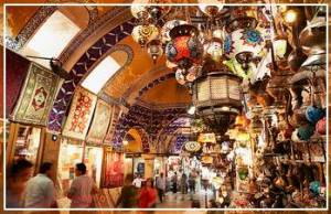 Grand Bazaar Labyrinth of colorful covered markets