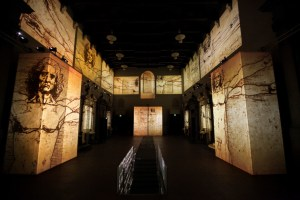 Leonardo Da Vinci Alive Exhibition - Florence