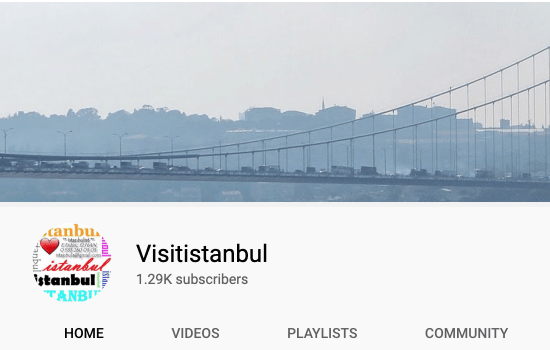 Istanbul Youtube Channel