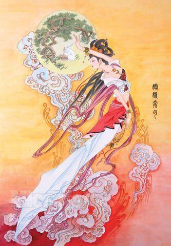 Chang'e go to Moon