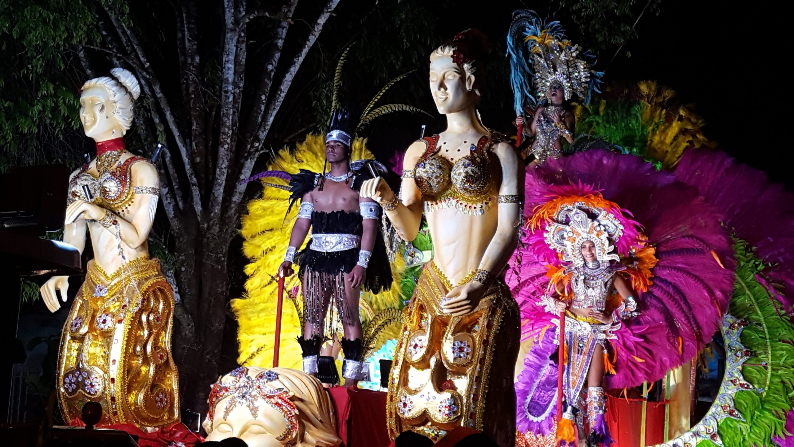 Float and queen Las Lajas Carnival Gallery