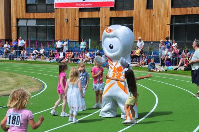 Wenlock, The London 2012 mascot at Wenlock Olympian Games