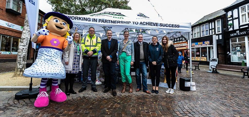 Great British High Street Judges Visit Northwich