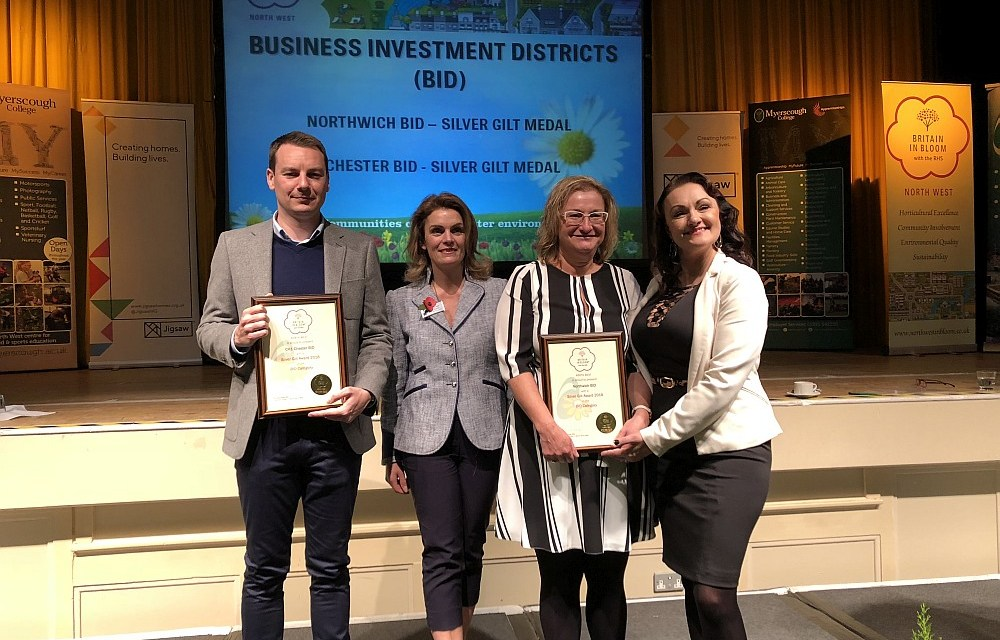 Northwich blooms at awards ceremony