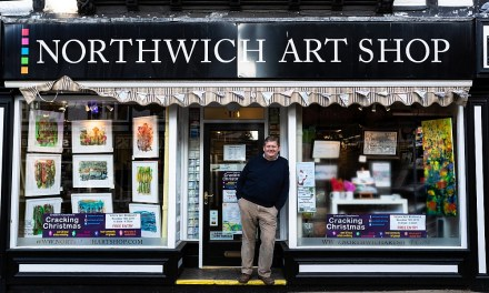 Northwich Art Shop wins award for second consecutive year