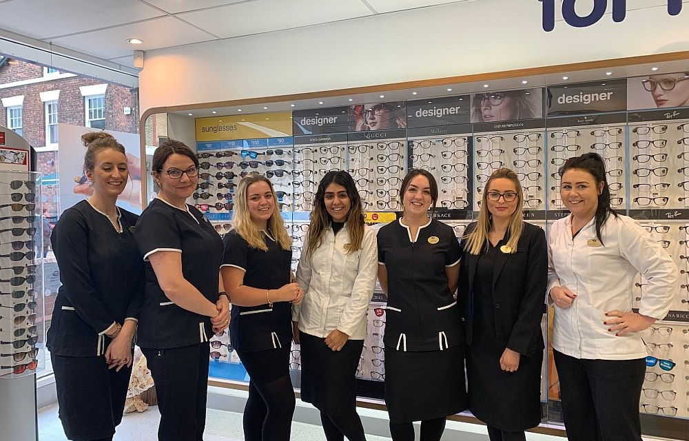 Boots Opticians in Northwich have a positive future in their sights