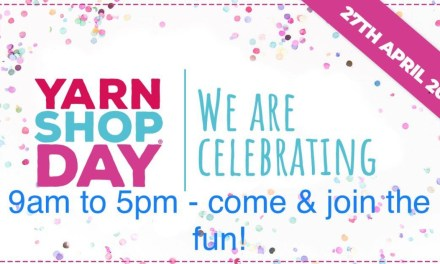 Crafty Stitches has exciting activities planned for Yarn Shop Day