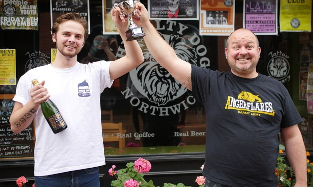 Prizes handed out to Northwich In Bloom competition winners
