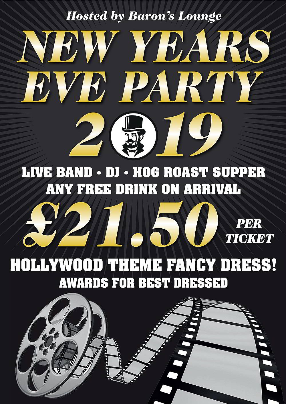 NewYear's Eve at Baron's Lounge