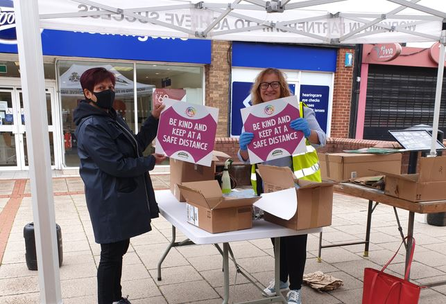 Northwich BID urges shoppers to be kind and stay safe