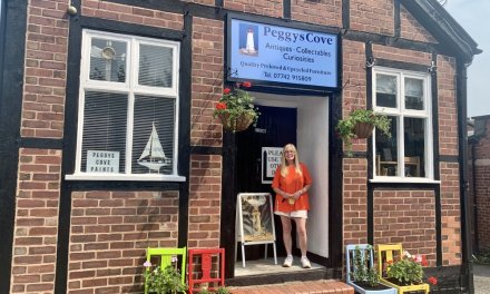 Northwich business uses lockdown to carry out refurbishment