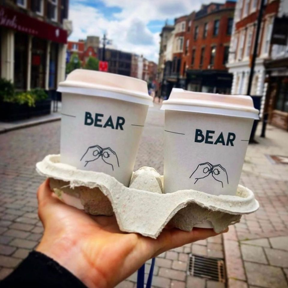 Bear Coffee Cups