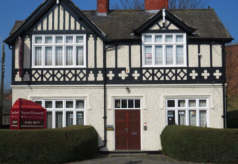 Susan Howarth Solicitors frontage