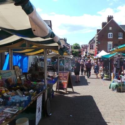 Market town Oswestry