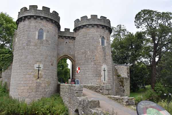 Whittington Castle North Shropshire