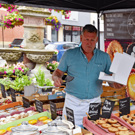 Oswestry Food producers, shop, festivals in Oswestry